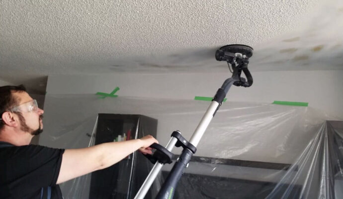 Popcorn removal-Miami-Dade Kitchen & Bath Remodeling-We do kitchen & bath remodeling, home renovations, custom lighting, custom cabinet installation, cabinet refacing and refinishing, outdoor kitchens, commercial kitchen, countertops, and more